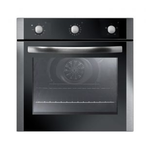 Iberna by Baumatic IBOF600X 60cm Built-in Electric Fan Oven in Stainless Steel