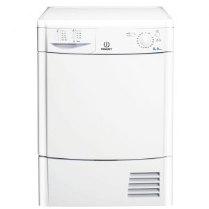 Indesit IDC8T3B EcoTime 8kg Freestanding Condenser Tumble Dryer - White