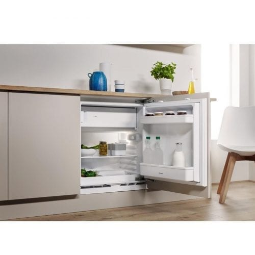 Indesit IFA1 60cm Wide 126L Integrated Under Counter Fridge - White