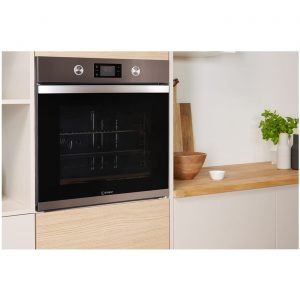 Indesit Aria KFW 3841 JH IX UK Electric Single Built-in Oven in Stainless Steel