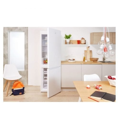 Indesit LD70 S1 W 70/30 Freestanding A+ Energy Rated Fridge Freezer in White
