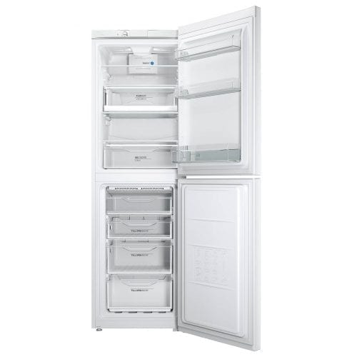 Indesit LD85 F1W 60cm A+ Energy Rated Freestanding Fridge Freezer - White