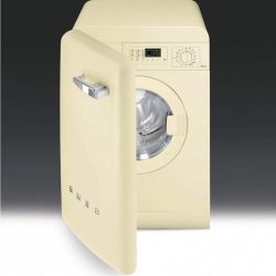 Smeg WMFABP1 50s Style 5kg 1400rpm Freestanding Washing Machine - Cream