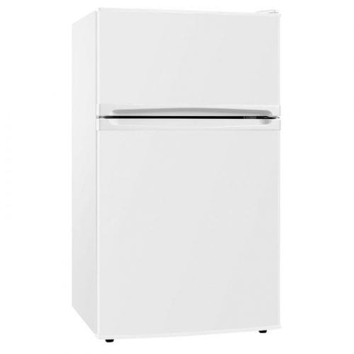 SIA UFF01WH 92L Freestanding White Under Counter 2 Door Fridge Freezer A+ Energy