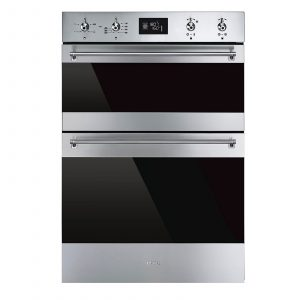 Smeg DOSF6390X Stainless Steel Multifunction Electric Built-in Double Oven