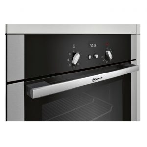 Neff B14M42N5GB Built-In Fan Assisted Single Electric Oven - Stainless Steel
