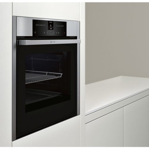 Neff B25CR22N1B Electric 71L Integrated Pyrolytic Single Oven - Stainless Steel