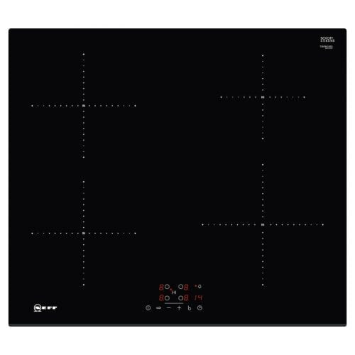 Neff T36FB41X0G Touch Control 60cm Four Zone Induction Hob - Black