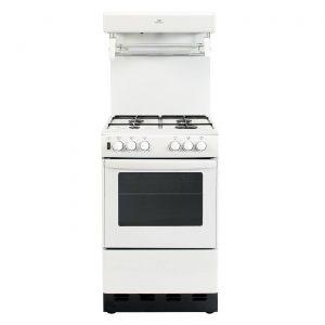 New World 50THLG 50cm Free Standing Gas Cooker Single Oven - White