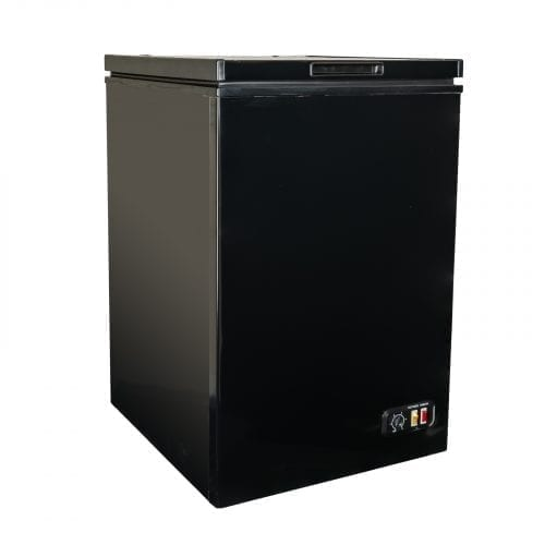SIA CHE100BL 54cm Black 104L Freestanding Chest Freezer With A+ Energy Rating