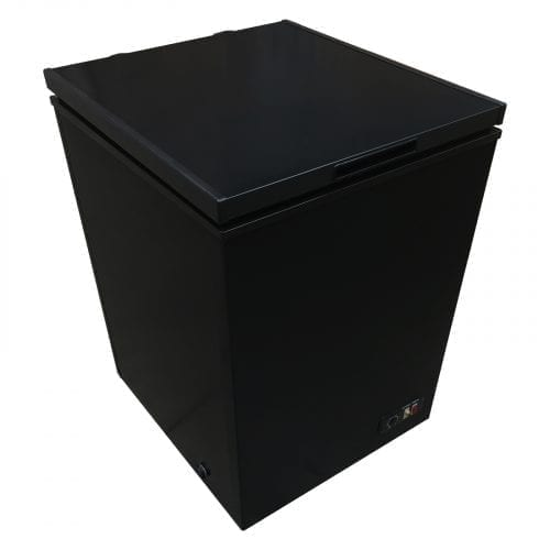 SIA CHE150BL Black Freestanding 147 Litre Chest Freezer A+ Energy Rating