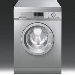 Smeg WMF147X 7kg 1400 Spin Freestanding Washing Machine - Stainless Steel