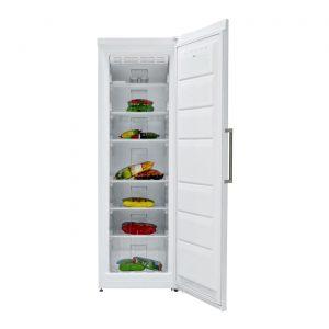 Sharp SJFE251W White 187cm Tall Touch Screen Frost Free Larder Freezer A+ Rating