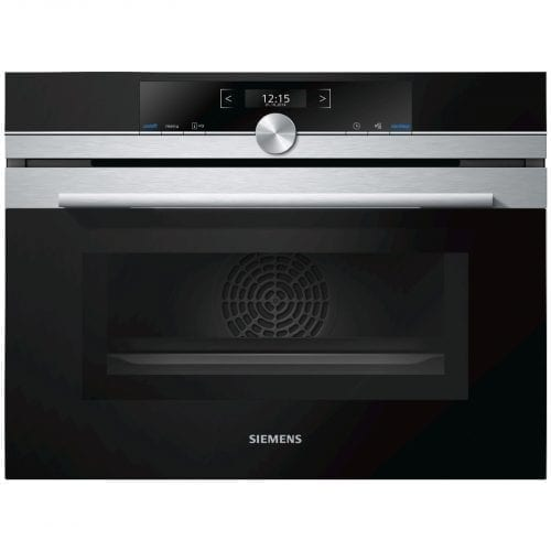 Siemens CM633GBS1B Stainless Steel 1000W 45L Built-in Combination Microwave Oven
