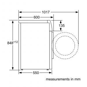 Siemens WM14N200GB 8kg 1400rpm Freestanding Washing Machine in White A+++ Rating