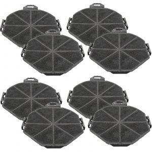 4 x SIA1 Cooker Hood Charcoal Re-circulation Filters For SIA Extractor Fans
