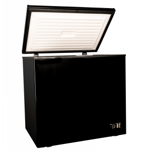 SIA CHE200BL Freestanding 205 Litre Chest Freezer In Black, A+ Energy Rating