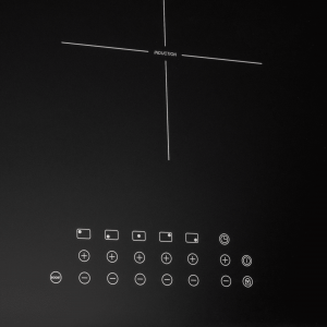 SIA 90cm Black Frameless 5 Zone Touch Control Induction Hob With Boost Function