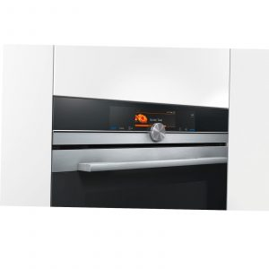 Siemens HS658GES6B 60cm Built In Single Oven Steam Oven in Stainless Steel