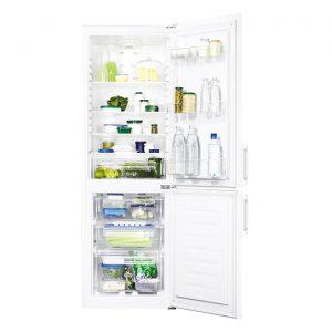 Zanussi ZRB23200WA 56cm Frost Free A+ Rated Freestanding Fridge Freezer - White