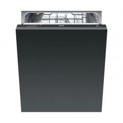 Smeg DI521 60cm Full Size 12 Place Fully Integrated Dishwasher A+ Energy Rating