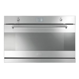 Smeg SFP3900X Classic Stainless Steel Electric Built-in Pyrolytic Single Oven