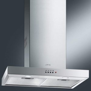 Smeg KSE61X-1 Cucina 60cm Chimney Cooker Hood Extractor Fan Stainless Steel