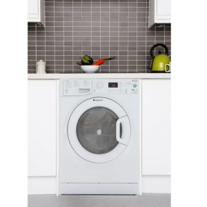 Hotpoint WDPG8640P 8kg Wash 6kg Dry 1400rpm Freestanding Washer Dryer - White