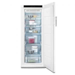 AEG A72020GN 60cm A++ Energy Rated Frost Free Tall Freezer - White