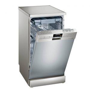 Siemens SR26T890GB Stainless Steel 10Place Slimline 45cm Freestanding Dishwasher