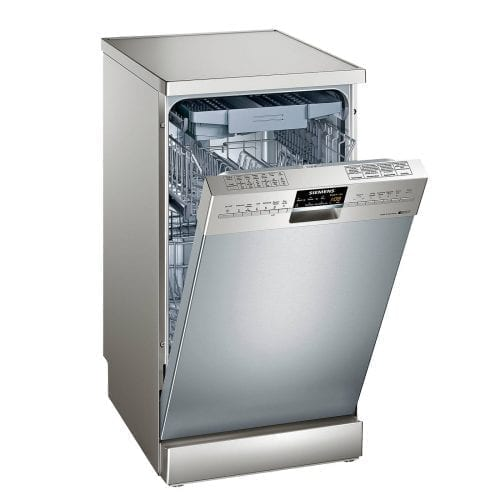Siemens SR26T890GB Stainless Steel 10Place Slimline 45cm Freestanding Dishwasher