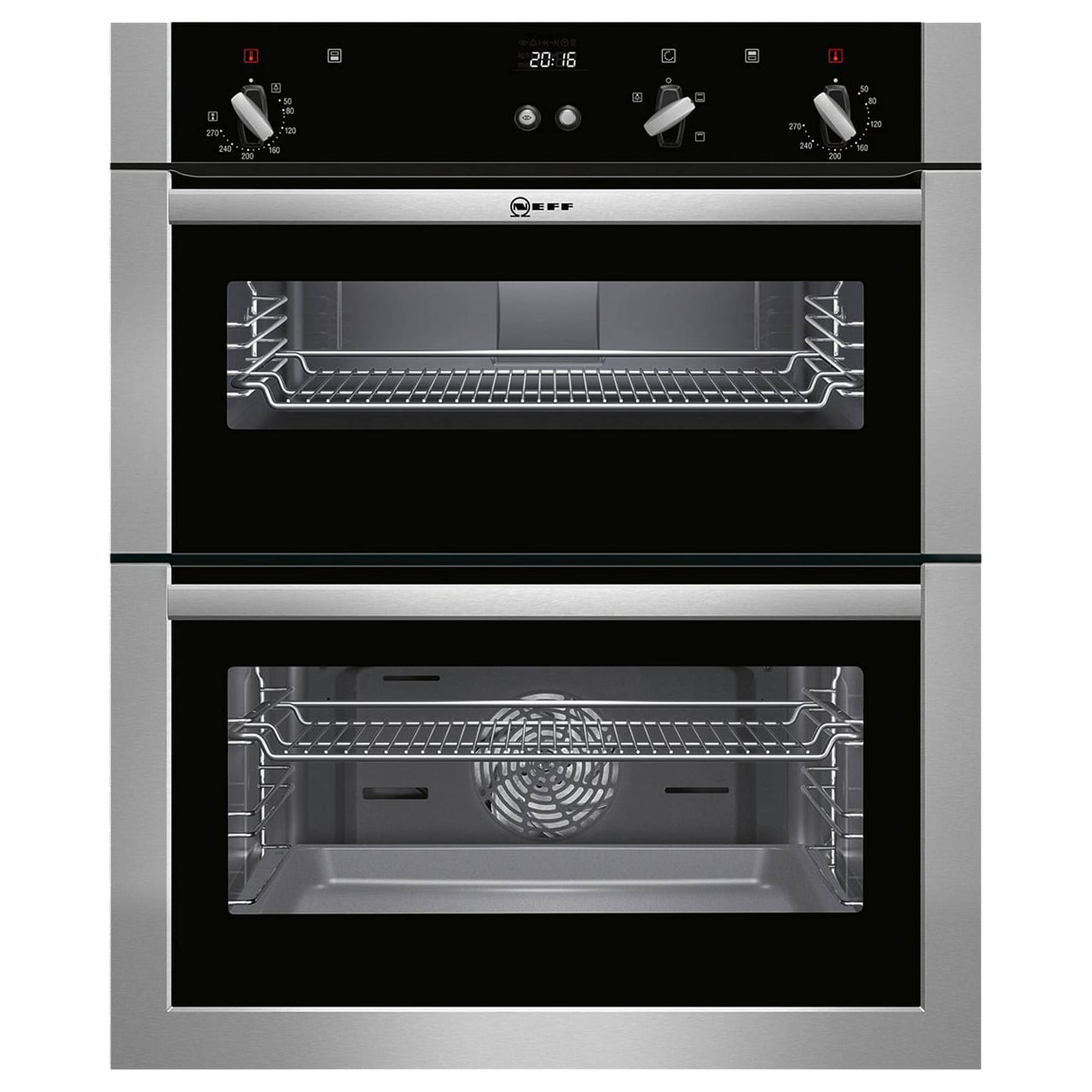 Neff U17s32n5gb Integrated Easy Clean Fan Assisted Double Oven