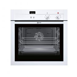 Neff B14M42W3GB Electric Built In Integrated Single Oven - White