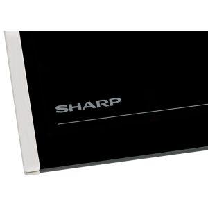 Sharp SK64PX 60cm Built-In Stainless Steel Fan Oven & 4 Zone Ceramic Hob