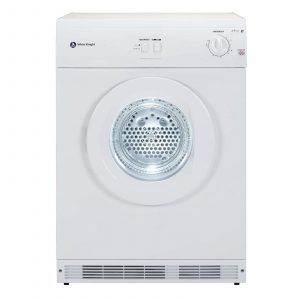 White Knight C44A7W 60cm 7kg White Freestanding Vented Tumble Dryer
