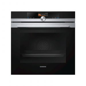 Siemens HB656GBS1B iQ700 Black Multifunction Electric Built-in Single Oven