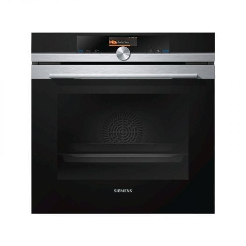 Siemens HB656GBS1B iQ700 Black Multifunction Electric Built-in Single Oven