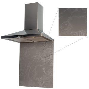 SIA SP60BB 60cm x 75cm Toughened Stone Effect Kitchen Glass Splashback