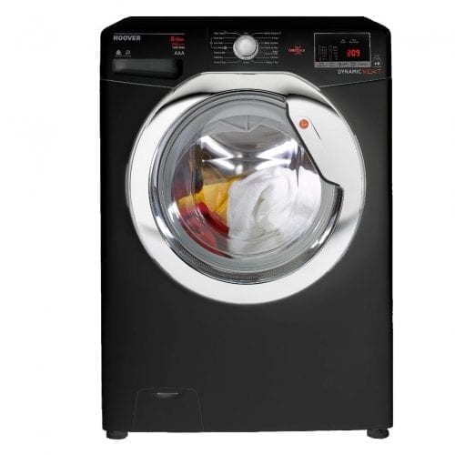 Hoover WDXOC585CB 8kg Wash 5kg Dry 1500rpm Black Freestanding Washer Dryer