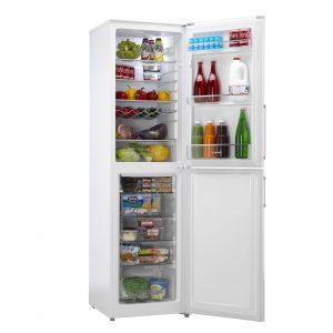 Hoover HVBF5192WHK 197 x 55cm White Frost Free Freestanding Fridge Freezer