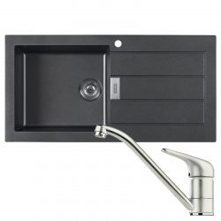 Franke Sirius SID651MA 1.5 Bowl Cream Reversible Kitchen Inset Sink & Waste Kit