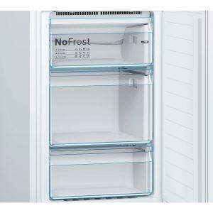 Bosch Serie 2 KGN34NW3AG White 50/50 Freestanding Fridge Freezer Frost Free A++