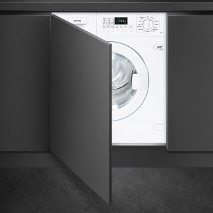 Smeg WMI147-2 59cm Integrated Extra Large Port 7kg 1400rpm Washing Machine