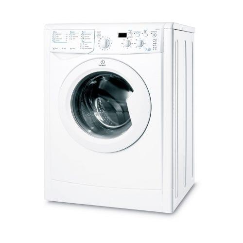 Indesit IWDD7143 7kg Wash 5kg Dry 1400rpm Freestanding Washer Dryer - White