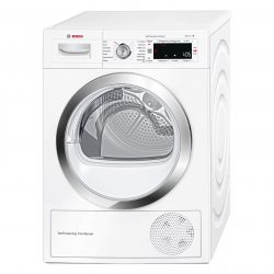 Bosch WTW87560GB 60cm 9kg White Freestanding Heat Pump Tumble Dryer A++ Rating