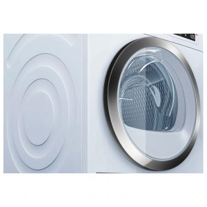 Bosch WTW87560GB 60cm 9kg White Freestanding Heat Pump Tumble Dryer A++ Rating