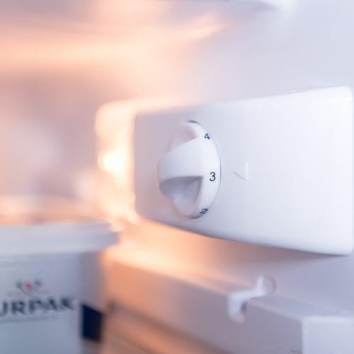 SIA RFU102 Integrated 117 Litres Capacity Under Counter Larder Fridge & Ice Box