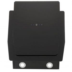 Montpellier DCH3260BG 60cm Angled Black Cooker Hood Designer Extractor Fan