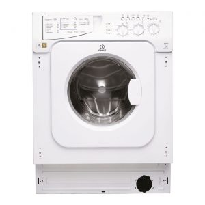 Indesit IWME147 White 60cm 7kg 1400rpm Integrated Washing Machine A+ Rated
