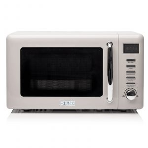 Haden Cotswold 191212 20L Putty 800W Freestanding Microwave Oven